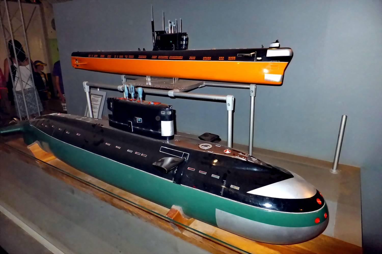 Атомная лодка дизельная